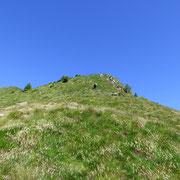 Dall'Alpe saliamo direttamente alla cima