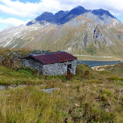 Alpe Scaione 2189 m, purtroppo abbandonata