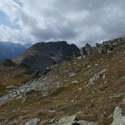 Saliamo alla cima quotata 2781 m