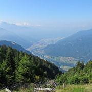 Dall'Alpe Domàs verso Bellinzona