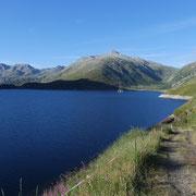 Sul sentiero che conduce all'Alp Rondadura