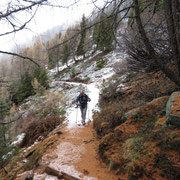 Percorriamo il nuovo sentiero che collega l'Alpe di Motto alla Capanna Brogoldone