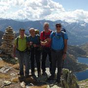 Arrivati alla Bocchetta 2800 m ca