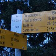 Proseguiamo verso Cremorasco