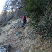 Salita all'Alpe di Gagern