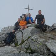 Pizzo di Claro 2720 m con Cri, Fafi, Desy e Paolo