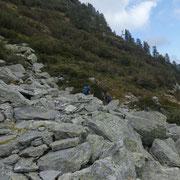 Verso l'Alp d'Albion