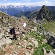 Arrivati alla Bassa di Canariscetto 2488 m