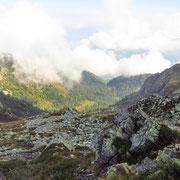Verso la Valle di Caneggio