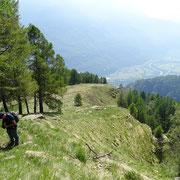 Verso l'Alpe Negrös