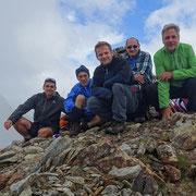 Cima di Garina 2780 m con Amedeo e Giorgio di Como