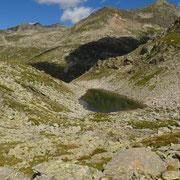 Arrivati alla Bocchetta degli Oréi 2447 m