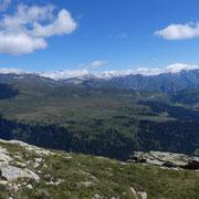 Panorama direzione Dötra (Valle di Blenio)