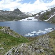 Lago Scuro dalla Bassa del Lago Scuro 2501 m