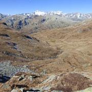 Verso l'Alpe di Fortünei