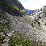 Sentiero per la Bocca de Rogna