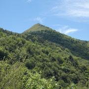 Monte Cornizzolo visto dalla Valle di San Miro