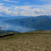 Lago Maggiore dal Monte Lema