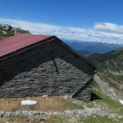 Stabile sotto la Cima di Cugn a 2194 m