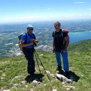 Monte Cornizzolo 1241 m, grazie all'amico per la foto