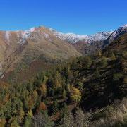 Scendendo nella Val di Serdena