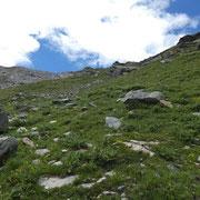 Discesa verso l'Alp Vigon
