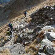 Dal Passo Predèlp 2452 m, discesa a Sompréi
