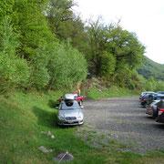Posteggio ai Monti di Mezzovico 789 m