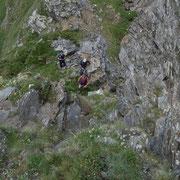 Tratto roccioso esposto