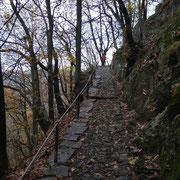 Sul sentiero verso i Monti di Artore