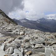 Panorama verso il Zapporthorn