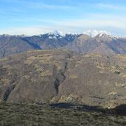 Verso il Monte Bigorio e Monte Tamaro
