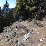 Proseguiamo verso l'Alpe di Sassello