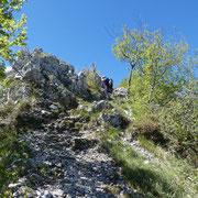 Sasso Malascarpa 1160 m