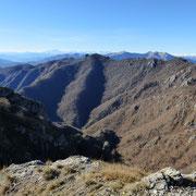 Cime di Noga (cima 1445 m)