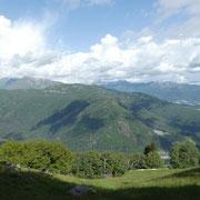 Arrivati ai Monti di Mezzovico 900 m