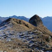 Passo 2270 m sotto il Mot Ciarin