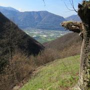 Panorama da Caslitt 840 m
