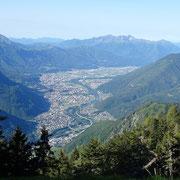 Er del Bastardell 1860 m, verso Bellinzona