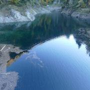 Arrivati al Lago di Roggiasca 956 m