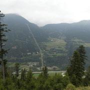 Dal sentiero per Cassin d'Ambrì verso Altanca e Ritom