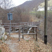 Ponte sopra il fiume Breggia (confine)