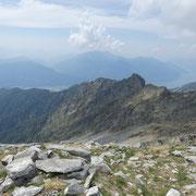 Cima di Morisciolo e Lago Maggiore