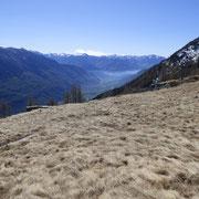 Alpe Matro Càuri 1891 m