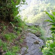 Sentiero per il Pont dei Alden