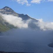 Passo del Lucomagno 1917 m, Lago di Santa Maria