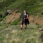 Discesa all'Alpe di Ravina