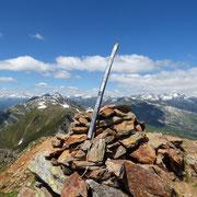 Pizzo di Campello 2660 m, abbiamo messo lo sci al suo posto