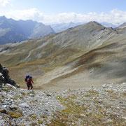 Arrivati sulla cresta del Bärenhorn