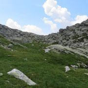 Bocchetta de Cressim e cima 2329 m